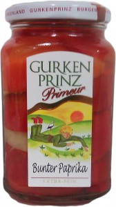 Bunter Paprika 370ml